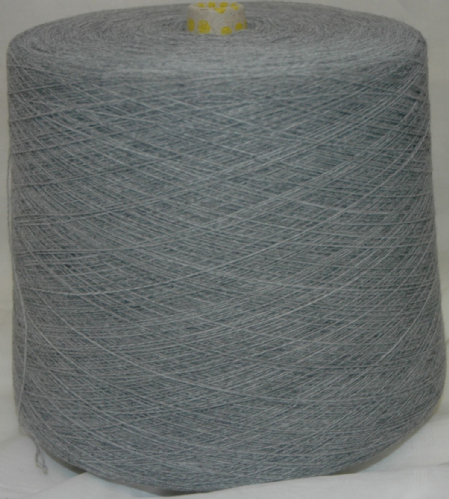 High Bulk Yarn 2/28s - Light Grey - 1500g